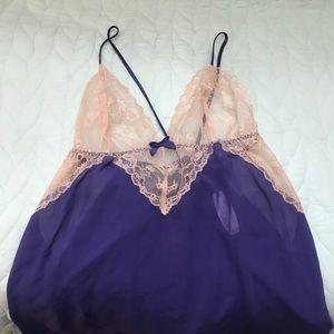 Purple Victoria Secrets Babydoll